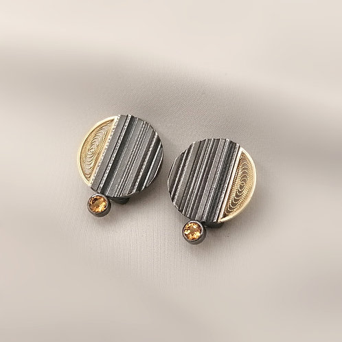 Filigree Clip Earrings