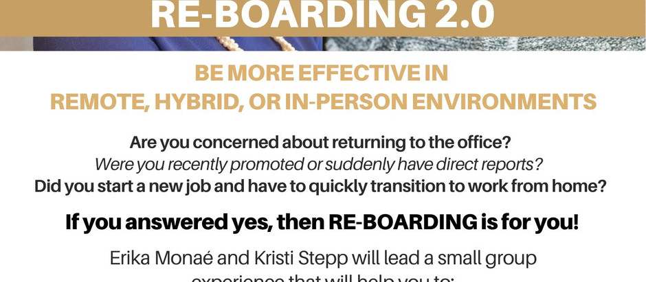 Re-Boarding 2.0 - How to successfully return to the office
