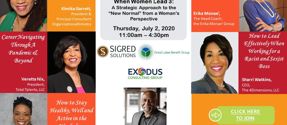 NAAAHR Michigan: When Women Lead Conference