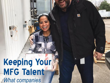 Keeping Your Manufacturing Talent