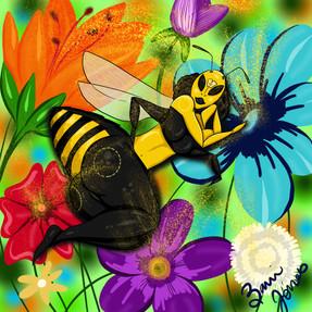 Queen Pollinator