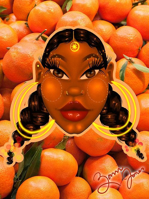 Fruit Ladies Prints