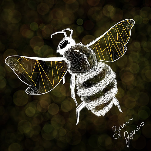 Save Tha Bees Print
