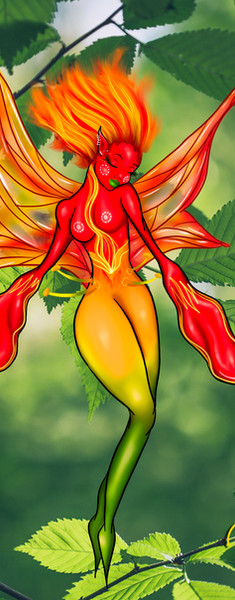 Flame Lily Fairy