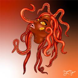 Orange Medusa