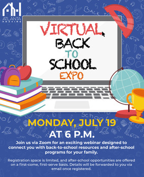 Virtual Back to School Expo - Atlanta Housing