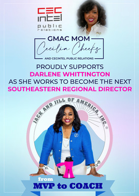 Page ad for Jack and Jill GMAC Chapter