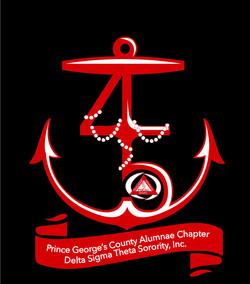 Anchored in Service Logo