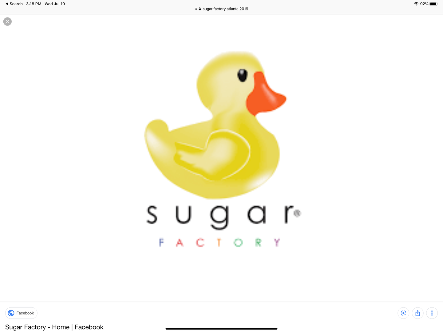 Sugar Factory Atlanta