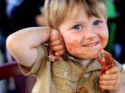 kids and ribs