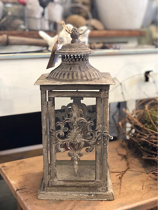 Laterne Metall Shabby
