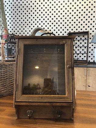 Schrank Holz Vintage