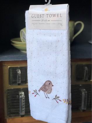 Gästehandtuch Vogel