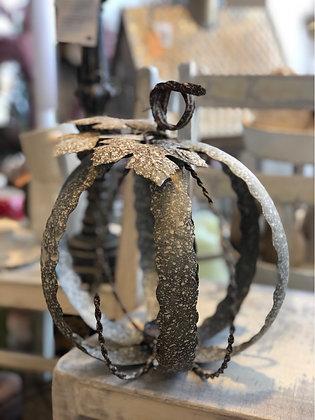 Kerzenhalter Laterne Kürbis  Metall