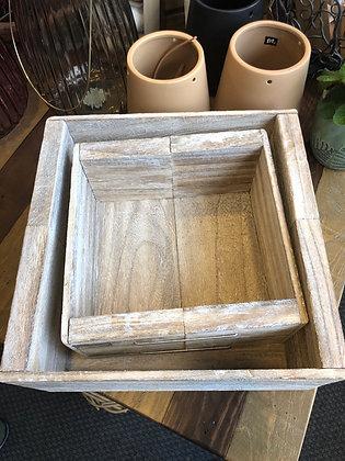 Holzkasten Shabby Set