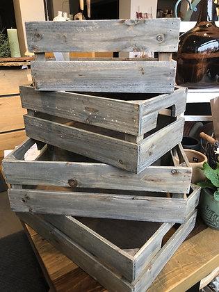 Holzkasten groß