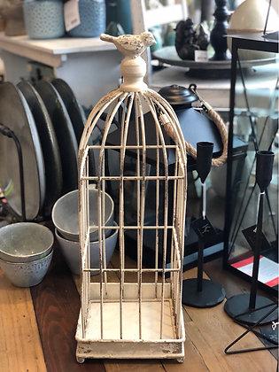 Vogelkäfig  Shabby Metall  klein