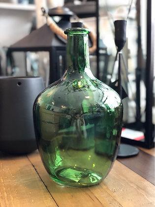 Flasche  Glas  grün