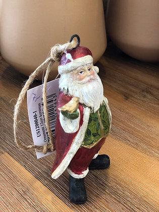 Figur Polyresin Weihnachtsmann