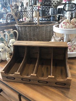 Besteckkasten Holz Shabby