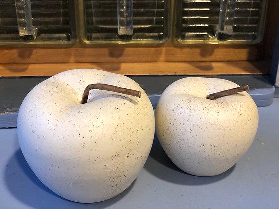 Apfel groß aus Polyresin