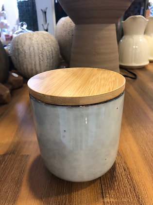 Dose Keramik mit Deckel