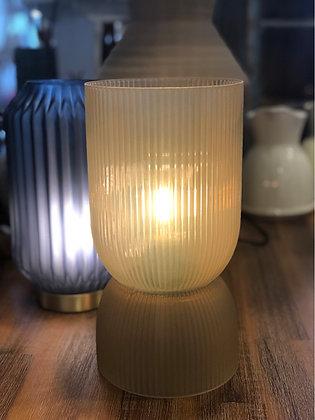 Lampe Glas mit Batterie