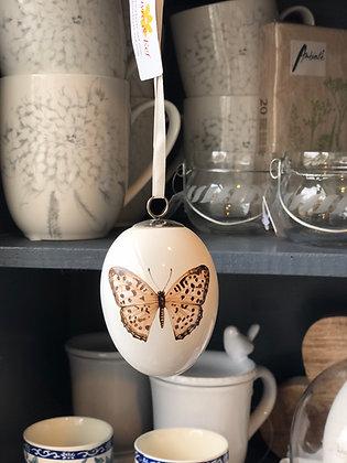 Ei Keramik Schmetterling