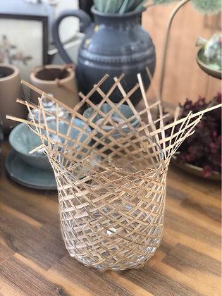 Vase Glas Windlicht