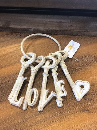 Schlüsselbund LOVE Vintage