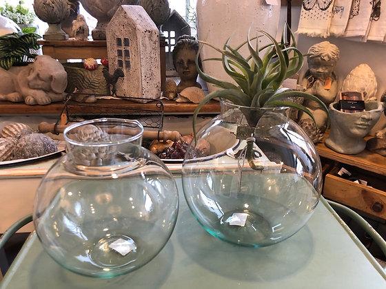 Vase Glas groß