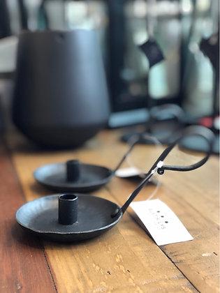 Kerzenhalter Eisen  klein  schwarz