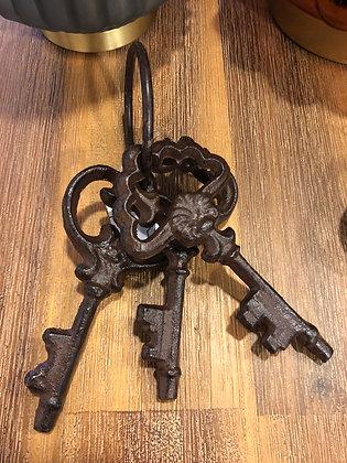 Schlüssel Eisen dunkelbraun