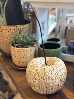 Apfel Polyresin klein