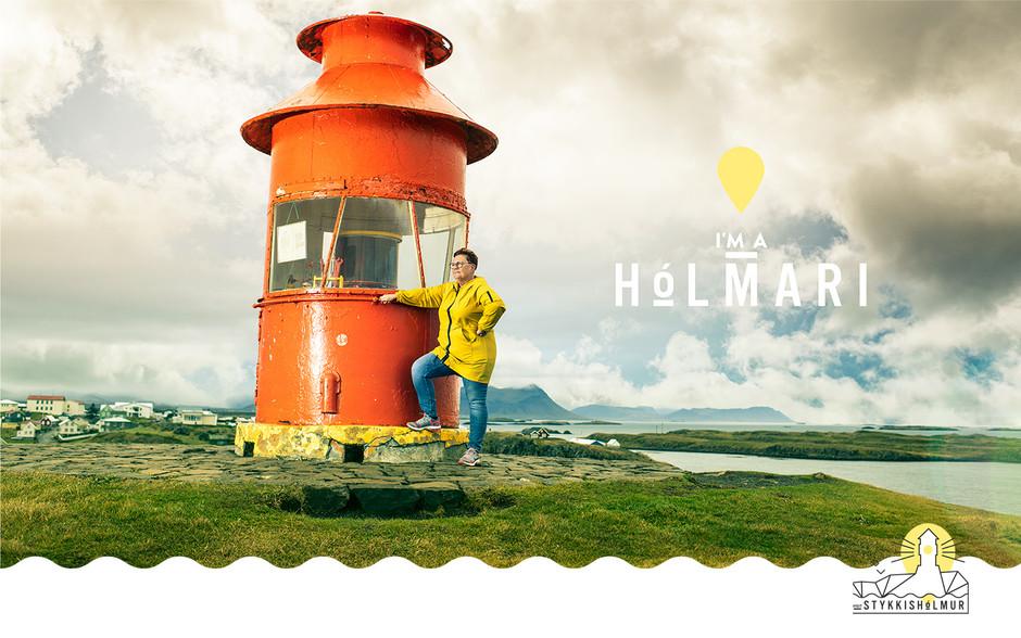 DISPLAYS - I´M A HOLMARI