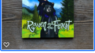 Raven and the Forest (softcover)