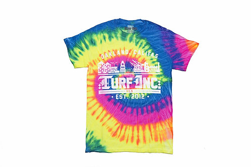 GOOD VIBES #TURFinc Tie Dye T-Shirt (Icee)