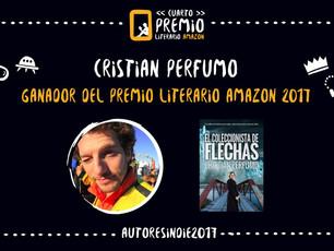 ¡Gané el premio literario de Amazon!