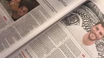 Un relato mío a doble página en el diario de mayor tirada de Argentina