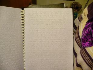 El secreto sumergido en braille