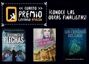 Sin anestesia: ¡Soy finalista del premio literario de Amazon!