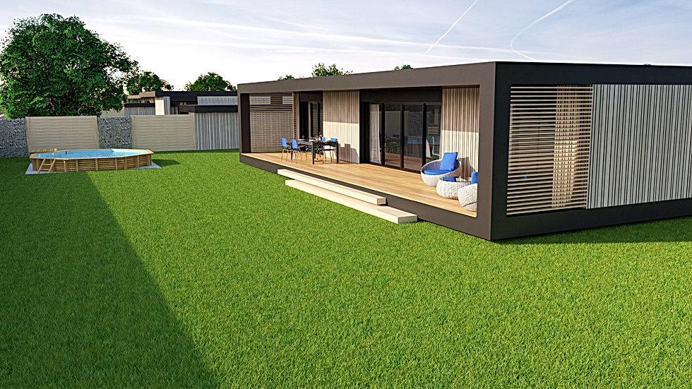 maison ossature bois auvergne Clermont ferrand Vichy Moulins