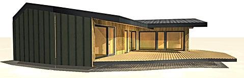 Maison ossature bois 80 m2 APconstructi