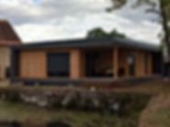 maison bois contemporaine zéro énergie