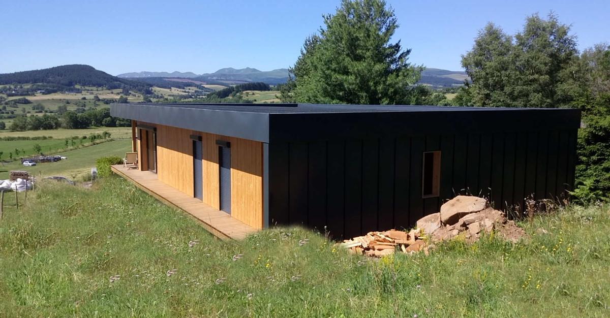 Maison Aydat Auvergne Pop-UP - A+Constru