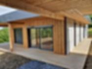Maison ossature bois Auvergne Vichy APconstruction