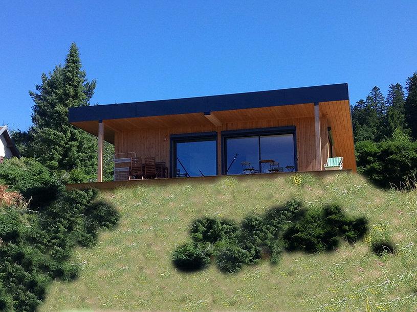 maison ossature bois auvergne