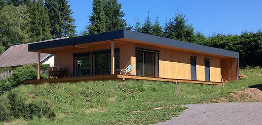 Maison Aydat ossature bois APconstruction