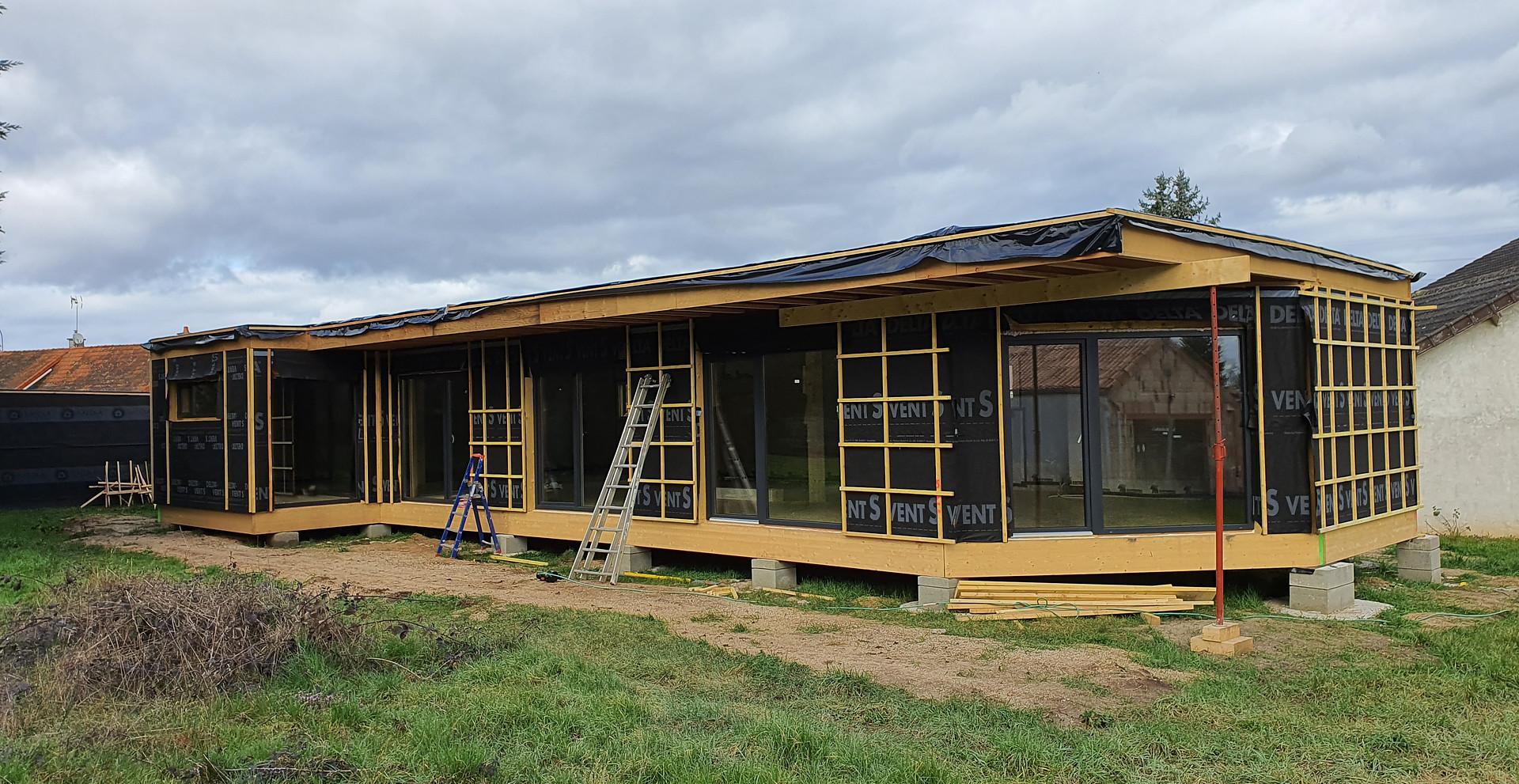 Maison bois APconstruction Moulins
