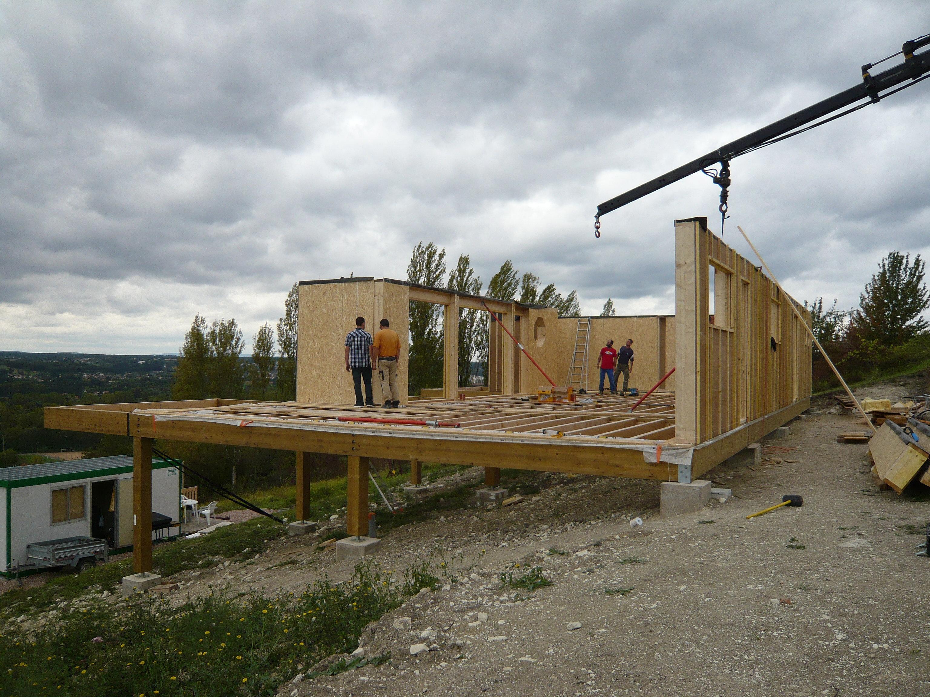Constructeur maison auvergne for Constructeur maison acier